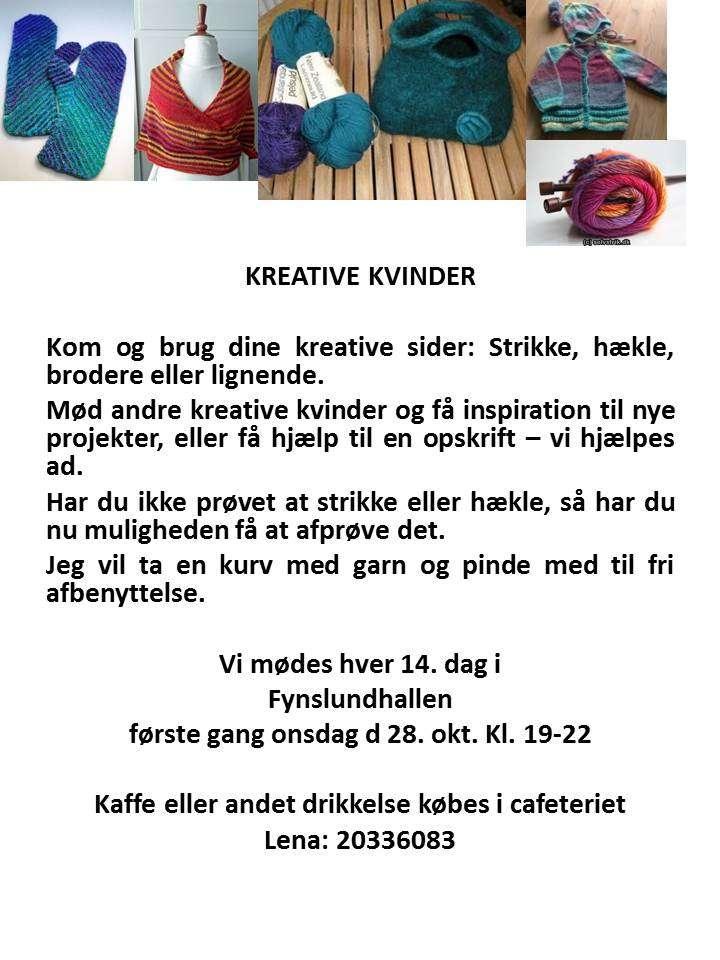 Kreative Kvinder